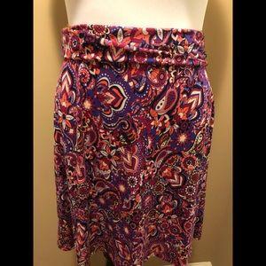 NWOT LulaRoe Azure Skirt
